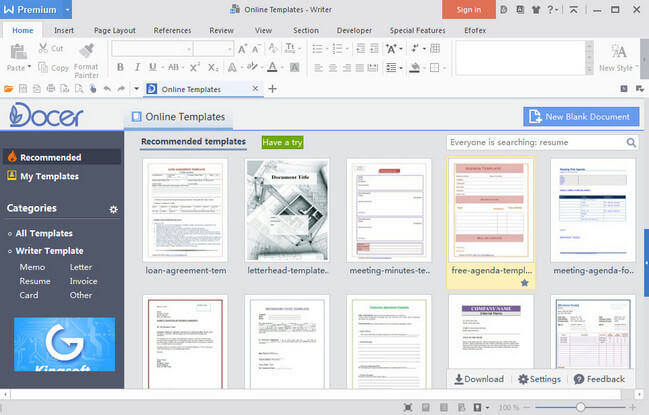 WPS Office 2016 Premium Full