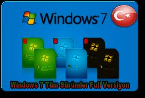 WindowsTümSürümlerFull