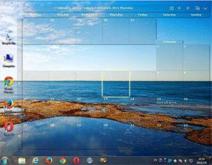 Desktop Calendar Full