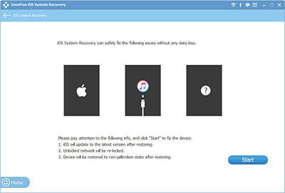 FonePaw iOS System Recovery Full