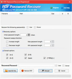 PDF Password Recover Full