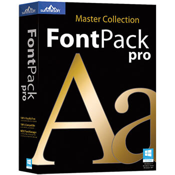 Summitsoft FontPack Pro Master Collection Full