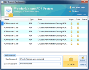 Wonderfulshare PDF Protect Full