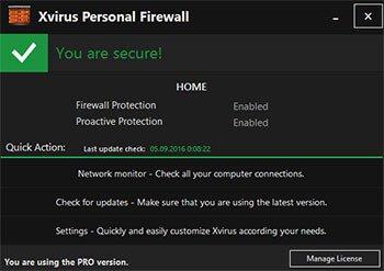 Xvirus Personal Firewall Pro Full