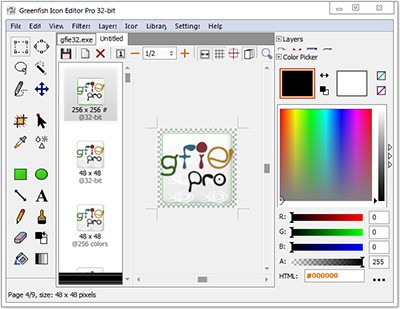 Greenfish Icon Editor Pro Full