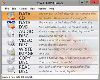 Jolix CD-DVD Burner Full