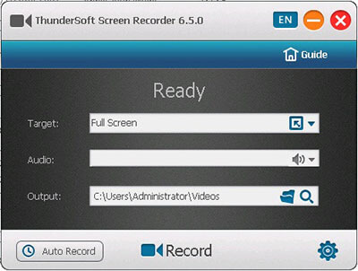 ThunderSoft Screen Recorder Full