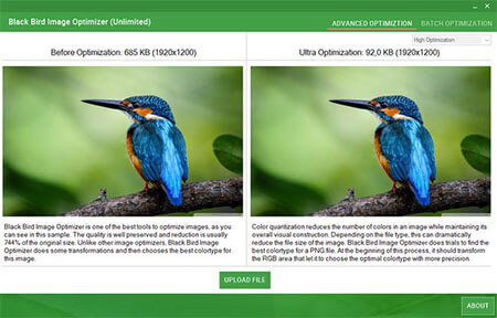 Black Bird Image Optimizer Full