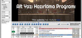 Subtitle Workshop Classic Full İndir v6.0c