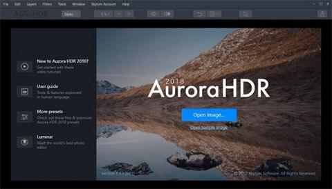 Aurora HDR 2018 Full İndir