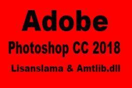photoshop cc  lisanslama