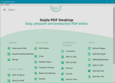 Sejda PDF Desktop Full