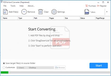PDFtoWord Converter Full