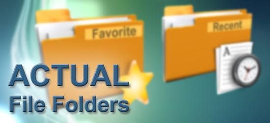 Actual File Folders Full