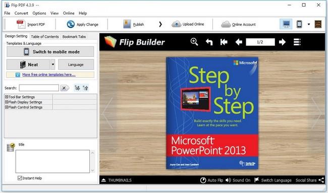 FlipBuilder Flip PDF Full