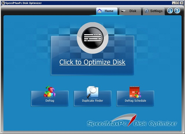 SpeedMaxPc Disk Optimizer 1.0.0.0 Full indir