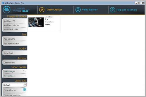 Video Spin Blaster Pro full indir