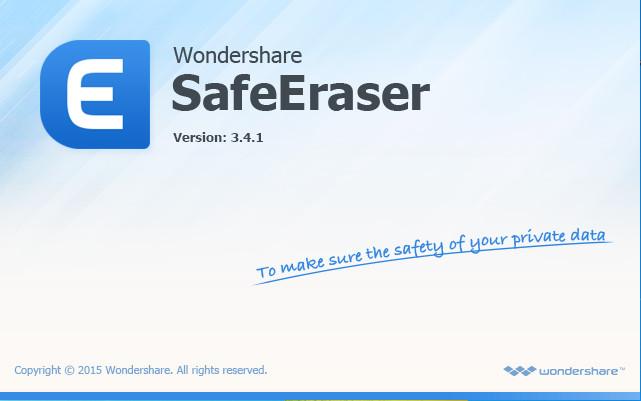 Wondershare SafeEraser Full indir